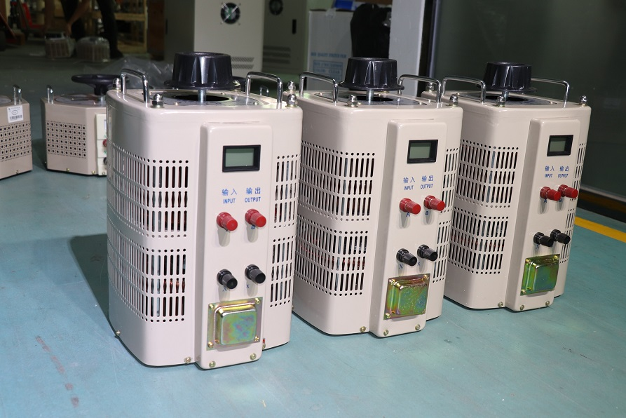 5KVA Single Phase Pengguna Adjustable Voltage Regulator Variac Transformer untuk Generator