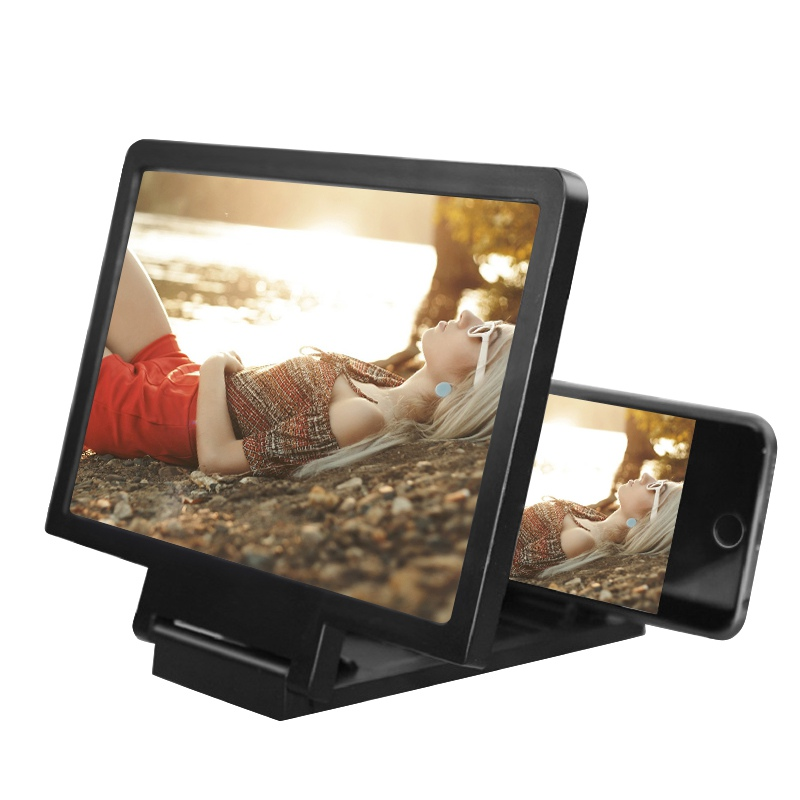 3D Screen Amplifier Mobile Phone Magnifying HD Stand for Video Folding Screen Enlarged Eyes Protection Phone Holder phone holder