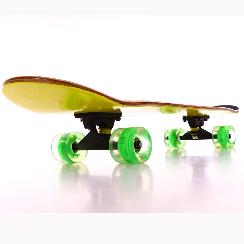 Mais popular profissional disponível personalizado crianças 22 polegada de peixe de plástico skate