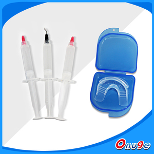 Onuge Teeth Whitening Gel Syringes with Trays For Teeth Whitening