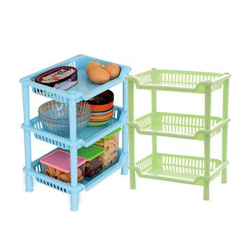 Oggetti Per La Casa Strati Di Plastica Portatile Di Storage Cucina ...