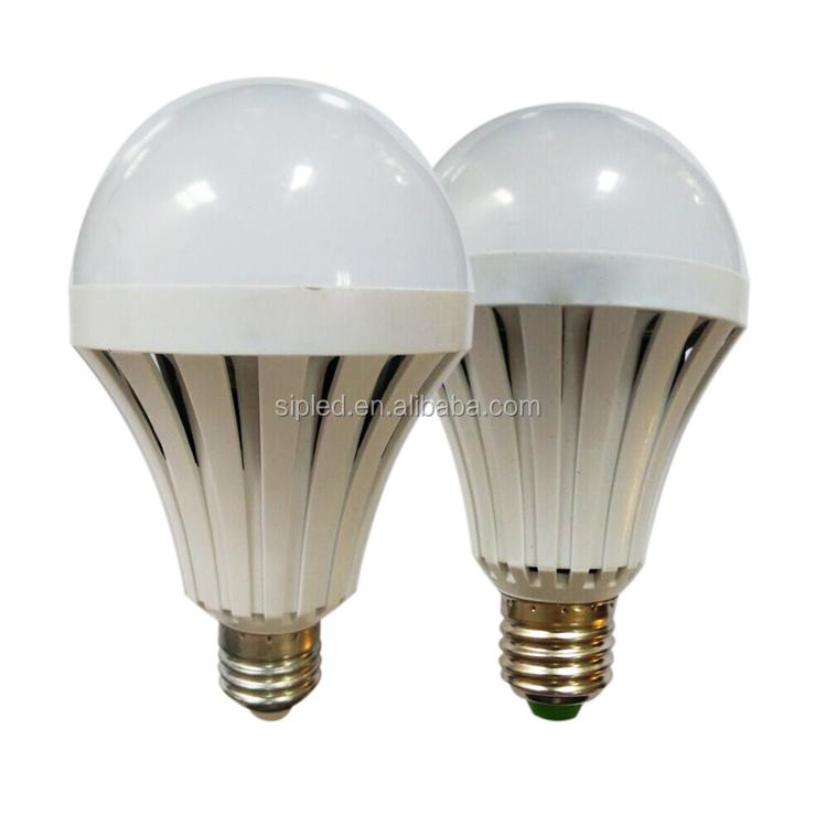 Emergency Led Light Bulb E27 9w Energy Saving Rechargeable Battery ...