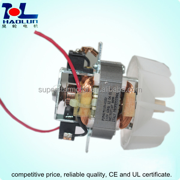 Hair dryer fan motor 5415 buy fan motor ac universal fan for Dryer motor replacement cost