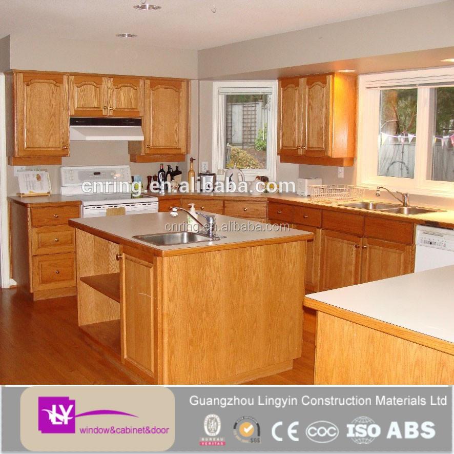 Ltimas mdf de madera del gabinete de cocina muebles for Modelos de gabinetes de cocina