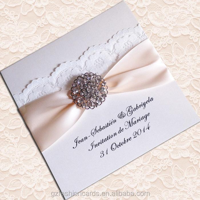 2015 Hot Sale Elegant Lace Luxury Wedding Invitation Buy Wedding – Elegant Lace Wedding Invitations