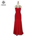 Long Plus Size Evening Party Gown Beaded Backless Mother Of The Bride Dress