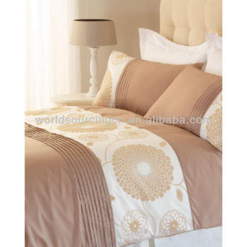 Double Bed Duvet Cover + 2 Pillowcases Oriental Natural