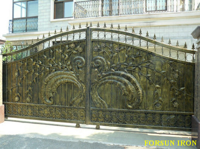 Iron Gate Models / Modern Wrought Iron Main Gate Design For Home Villa And  Garden