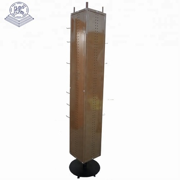 4 side rotating belt display stand