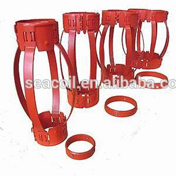 "API 10D 5 1/2"" Casing Non Weld Bow Spring type Solid type Casing Centralizer stabilizer guider"