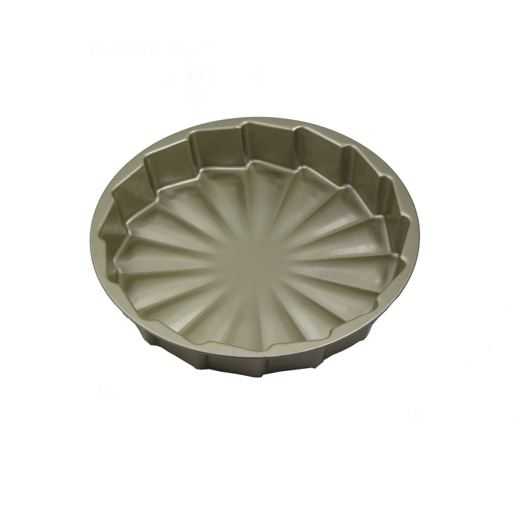 Large Big Carbon Steel Nonstick Microwave Oven Baking Cake Pan