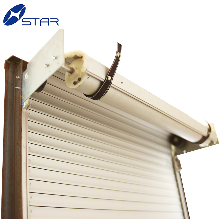 Aluminum Section Panel Roll Up Shutter Doors Truck Roller Shutter Doors