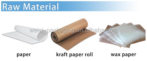 Alışveriş / hediye / fırın ucuz logo baskı ile küçük düz kolu kraft kağıt torba