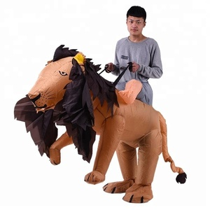 New design lion inflatable costume for kids and adult