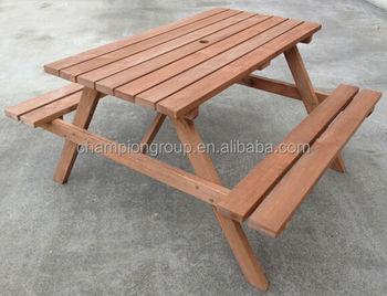UM 6735 Picnic Set / Picnic Table Chair Set / Kids Wood Picnic Table