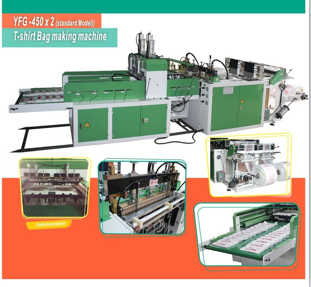 Has Video Bag Making Machine Wholesaler Biodegradable Plastic Bag Making Machine To Make Bags