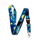 China Wholesale Cheap Custom Printed High Quality Funny Polyester Sublimation White Neck Lanyard