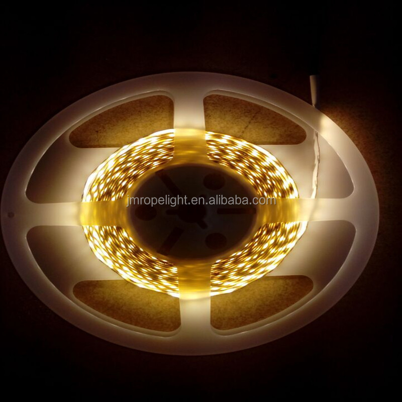 best quality stable smd 2835 DC12V 120leds/m double pcb led flexible strip light with 3M sticker