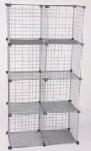 Promotion cube de stockage de grille acheter des cube de stockage de grille - Cube metallique rangement ...