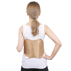 Fujian body care electric vibrating infrared heating slimming massage belt for belly legs feet