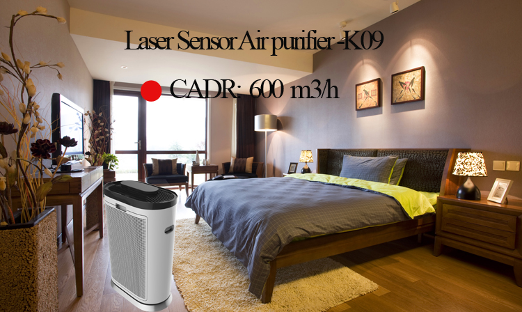 Wholesale Air purifier with filter PM2.5 with wifi function-OLS-K09A
