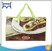 Customized polyester pp woven shopping bag organizer