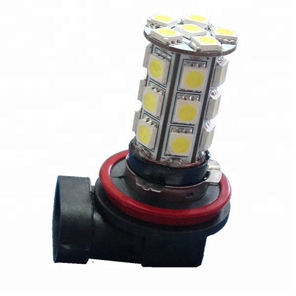 PA 5050 SMD H8 H11 LED BIANCO Middle Range 300 LM
