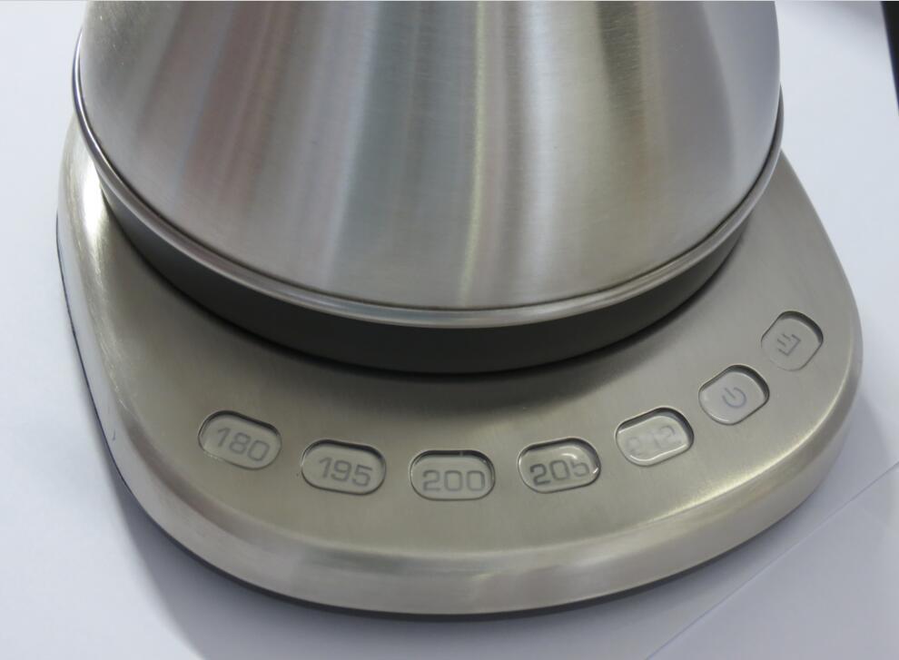 08liter variable temperature digital electric gooseneck kettlestrix controller
