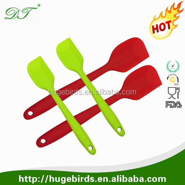 Wholesale Best cooking kitchen silicon spatula with Custom Logo Printed