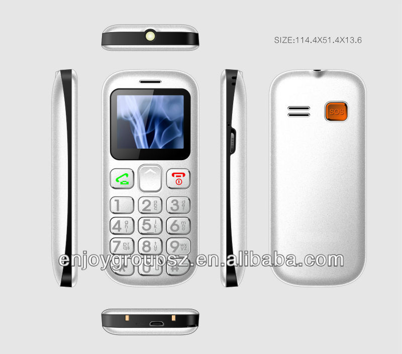 "Manufacturer 3G/WCDMA GSM Senior phone For 1.77"" Low End MTK6276W Quad Band Big Button"