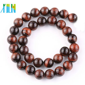 Maxican natural red tiger eye round stone strand beads wholesale