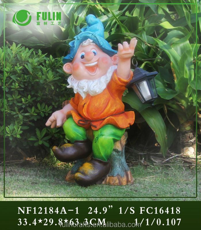 Champignon Et Nain Jardin Résine Grandes Oreilles Gnomes - Buy ...