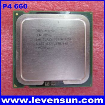 Used pull clean intel cpu pentium 4 P4 660 3.6GHz 2MB SL7Z5 SL8PZ