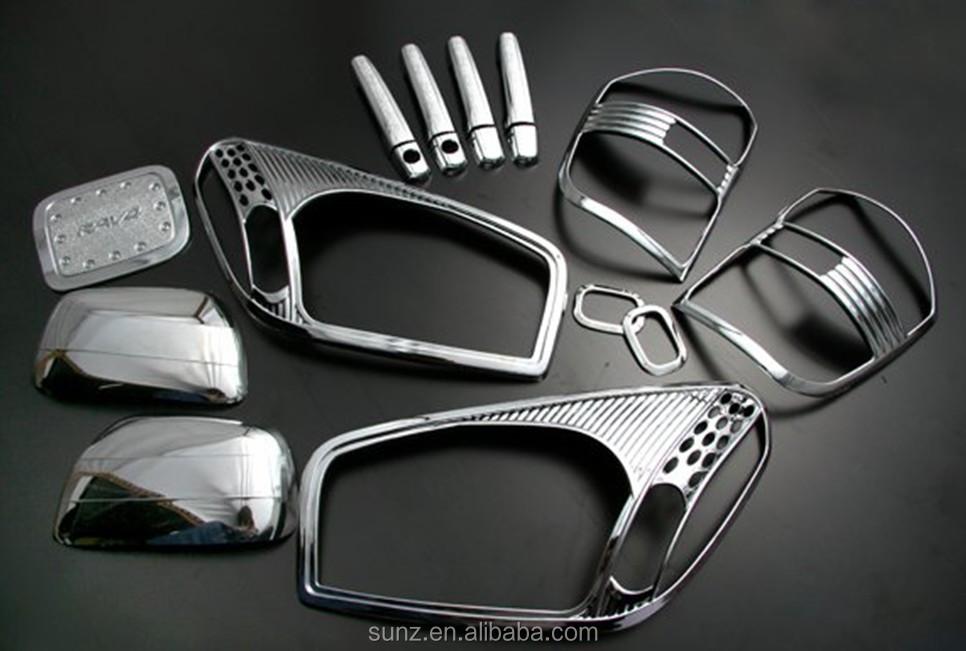 chrome volledige kit voor toyota rav4 2001 auto accessoires chrome accessoire toyota rav4 2001. Black Bedroom Furniture Sets. Home Design Ideas