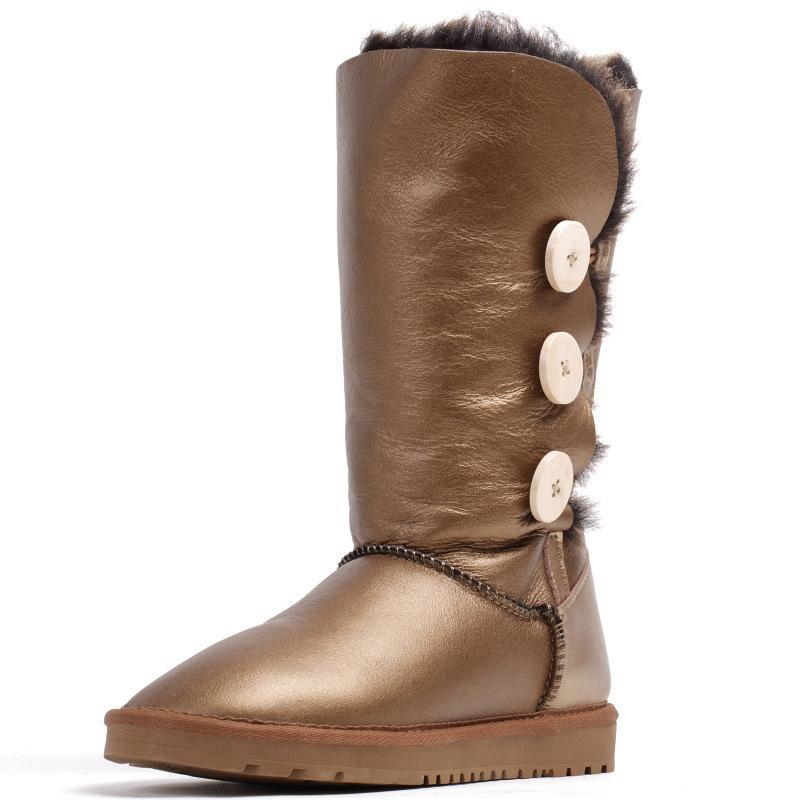 00f3a910853 Get Quotations · NEW Style Fashion Warm Australia Boots Women 2015 Women  Shoes Winter Boots Women Genuine Leather Snow