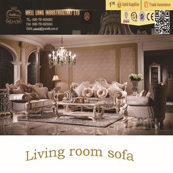 Luxury French Noble Sofas European Style Royal Furniture Living