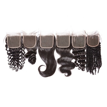 Cheap Hd Closure Raw Indian Hd Lace Frontal Undetectable 13x4 4x4 5x5 7x7 6x6 Hd lace Closure Human Hair Ear To ear Lace Closure