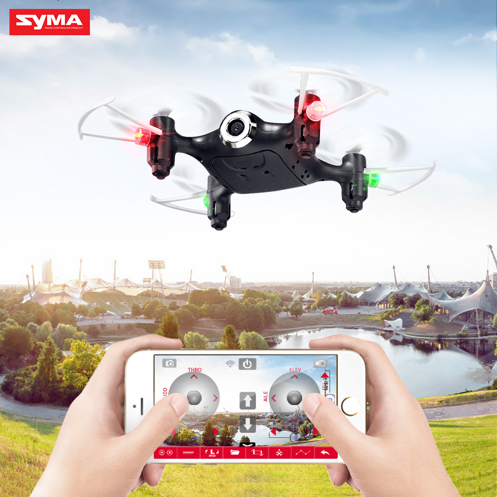 Syam airplane toy x21w remote control pocket ultralight aircraft small selfie drone <strong>mini</strong>