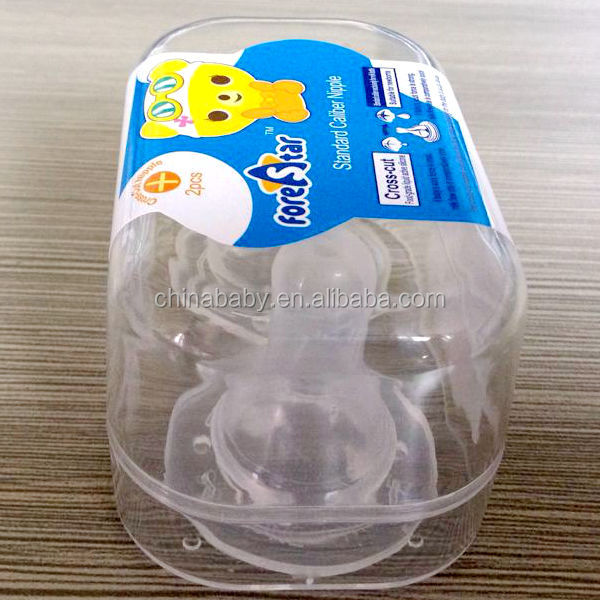 fore star new baby products bottle 2pk silicone nipple