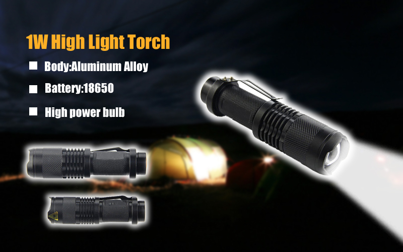 Wholesale High Quality aluminum 14500 zoom 5000 lumen flashlight for hunting