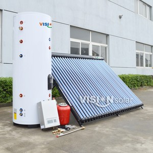 Closed Loop Heat Pipe Split Solar Water Heater System for Germany