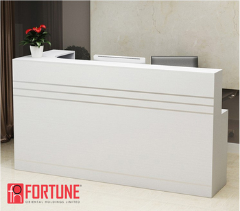 Office Reception Table With Gl Top