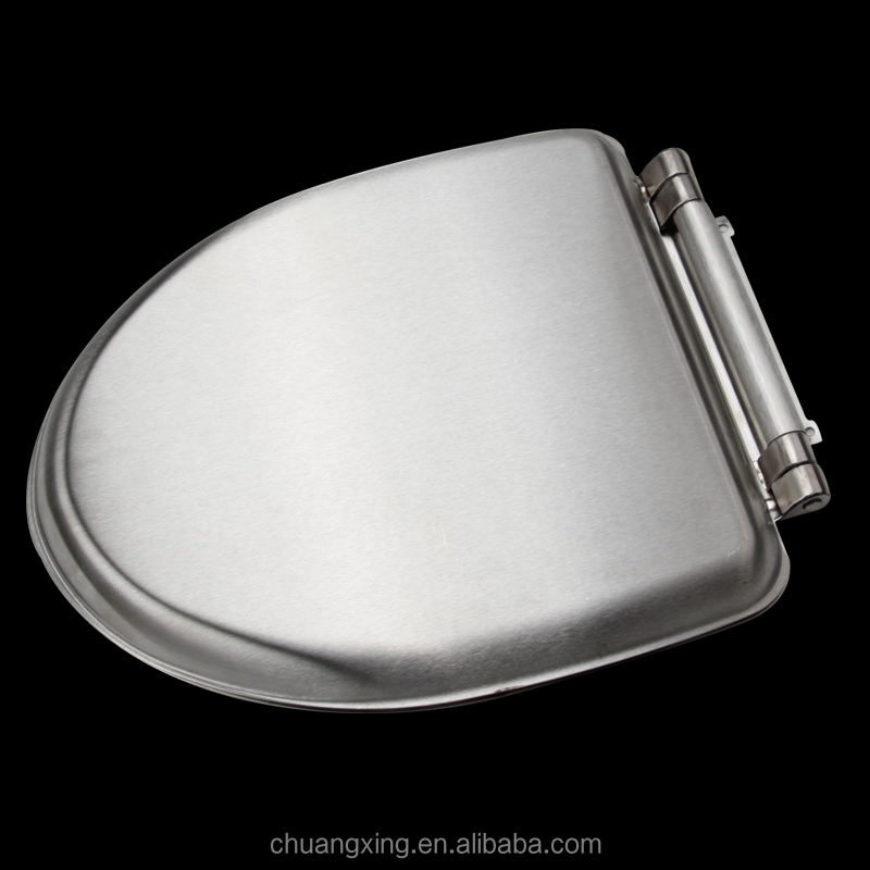 american standard size stainless steel toilet seat