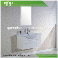3 Drawer bathroom rattan cabinet