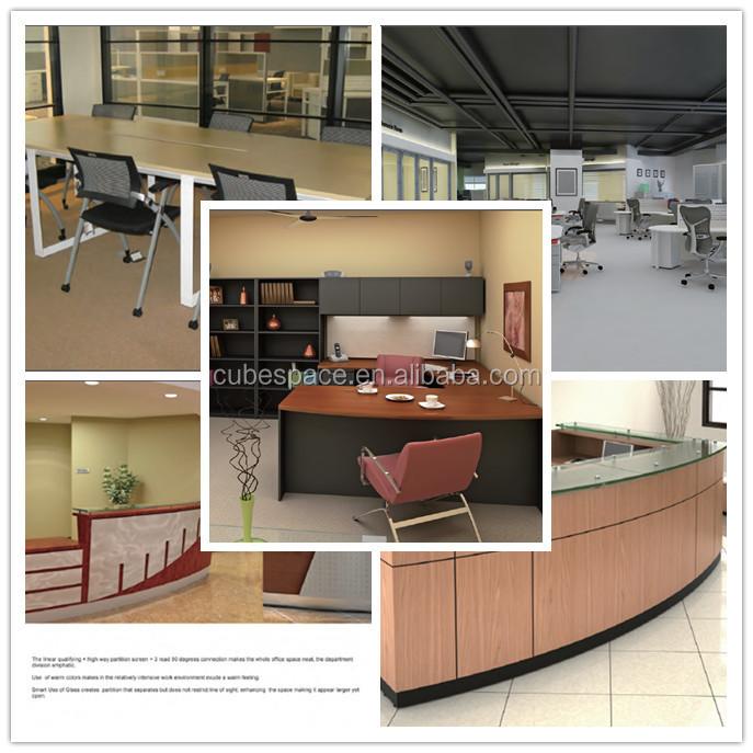boss modern director office desk side table design, View office ...