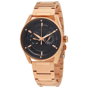 Oshi 18K 22K rose gold heavy chronograph mens watch