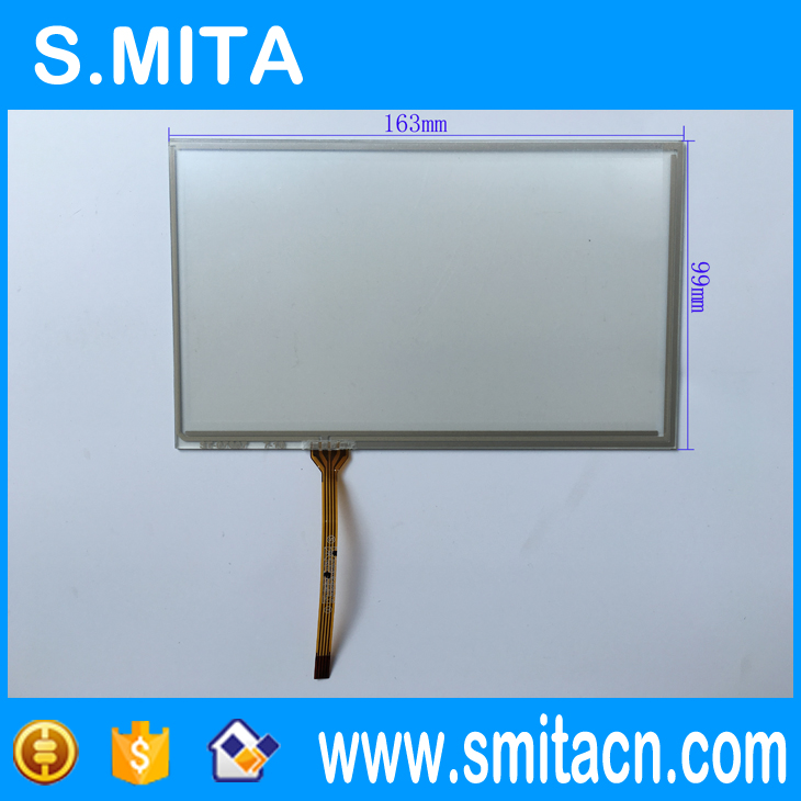 7'' inch ST-07007 4 wire resistive touch screen KORG PA600 Touch screen digitizer 163mm*99mm
