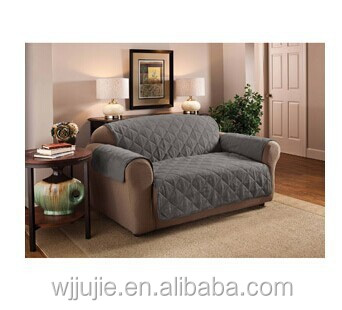 Plain Style And Quilted Pattern Sofa Cover Throw Large Throws
