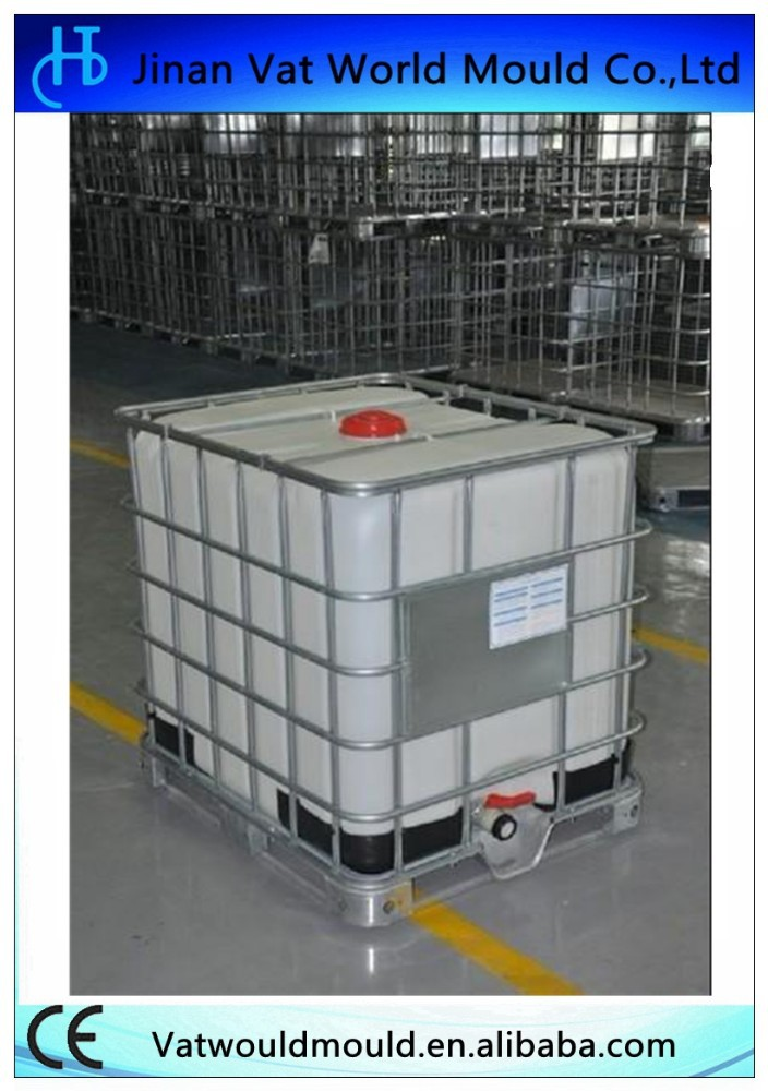 2000L liter Extrusion tank ibc chemical container blowing mould