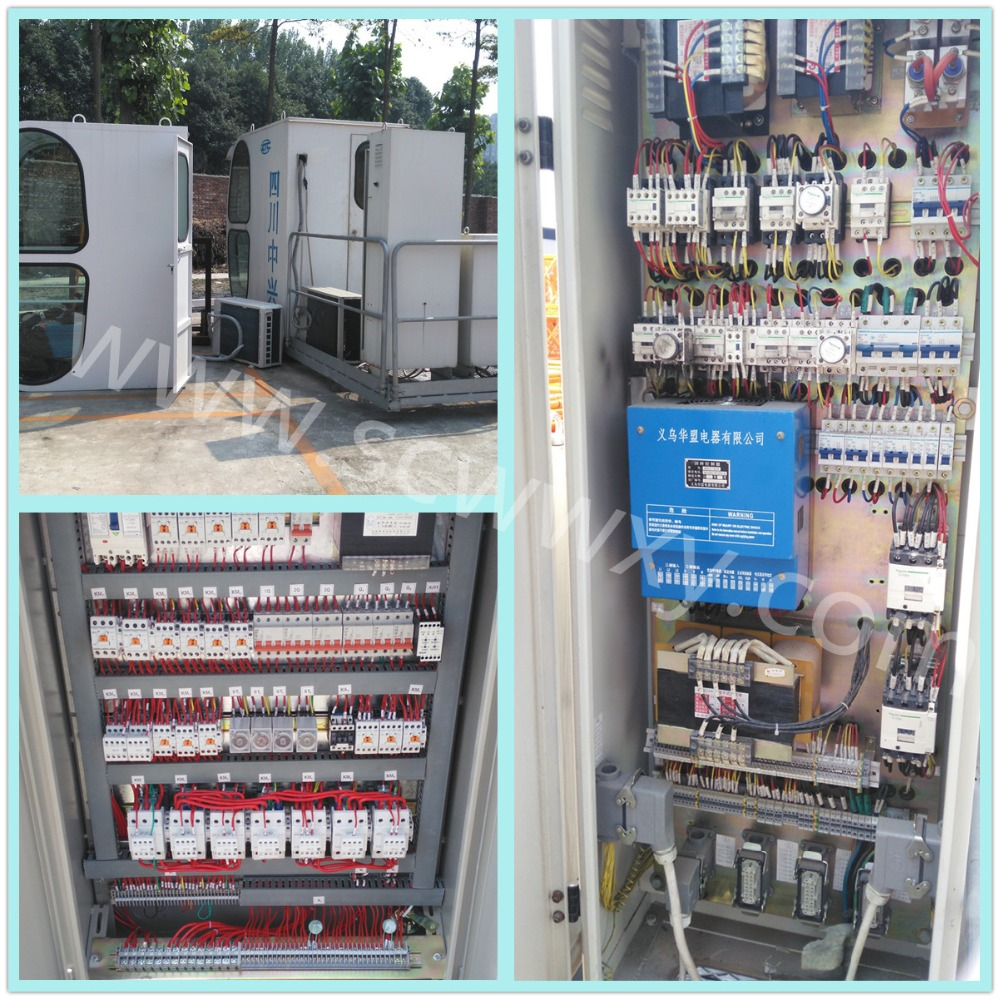 Scww Tower Crane Spare Parts RCV Slewing Control Panel R Electrical